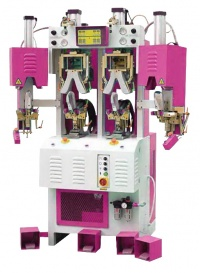 HOT AND COLD BACKPART MOULDING SHOE MACHINE
