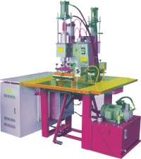 PNEUMATIC /HYDRAULIC HIGH FREQUENCY EMBOSSING MACHINE